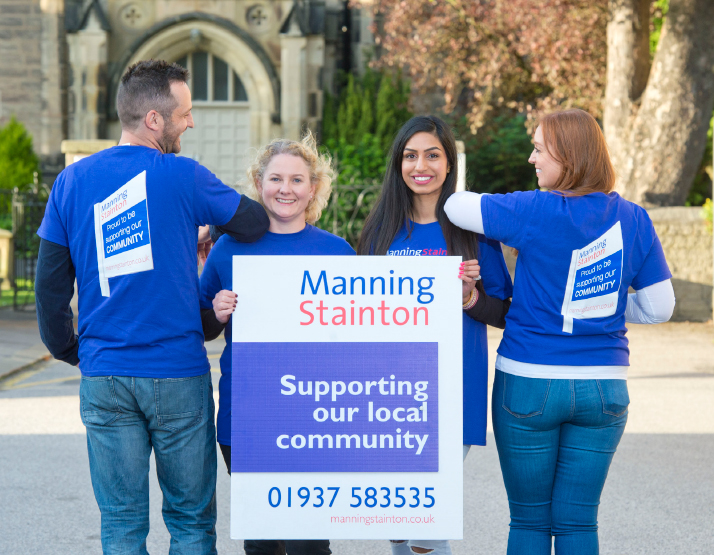 Manning stainton Team Holding Community Board