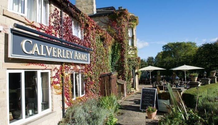 The ever popular Calverley Arms Pub and Restaurant in Calverley