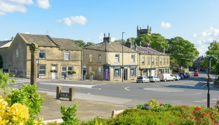 A collection of independent shops and businesses in Guiseley