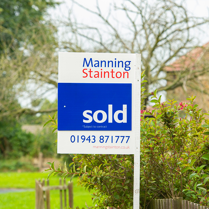 Manning Stainton Sold House Board